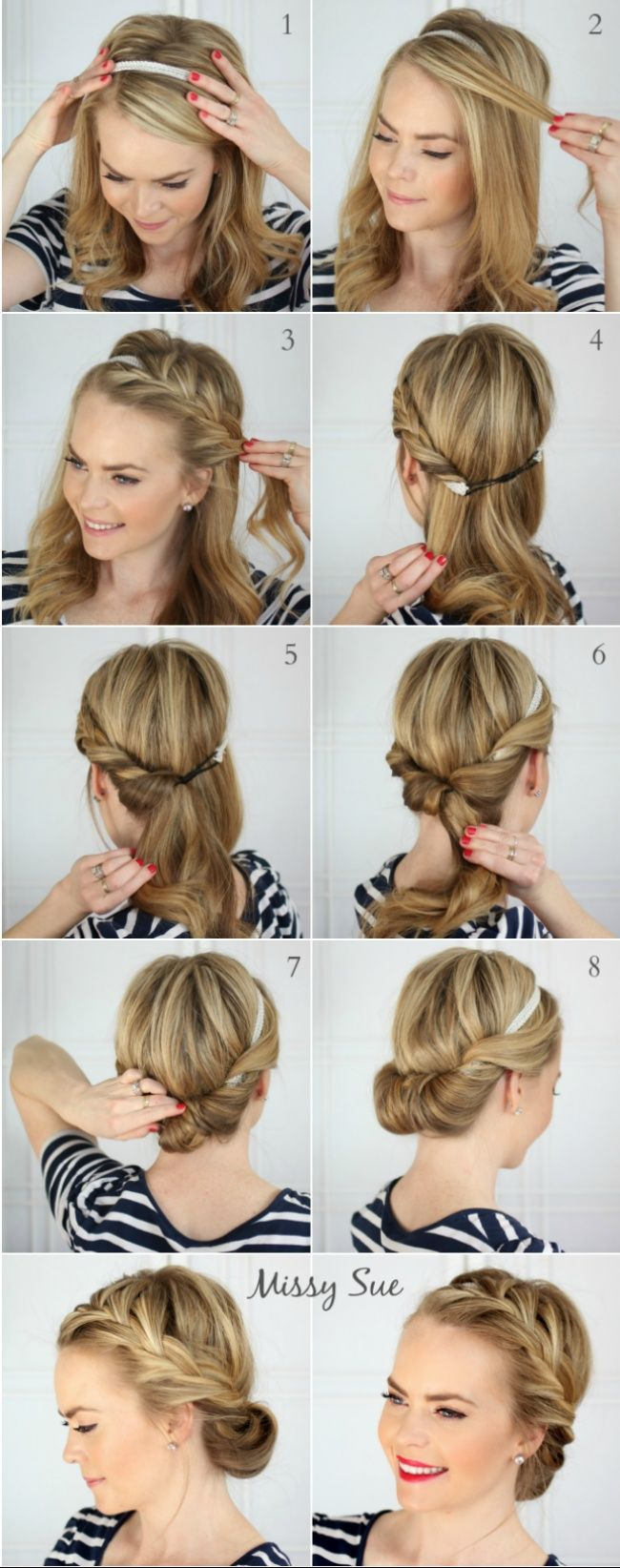 Ten 'lazy' hairstyles for summer
