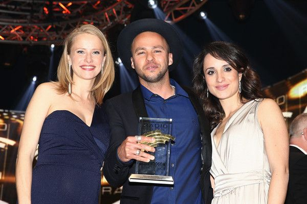 Susanne Bormann Photos - (L-R) Susanne Bormann, Marlon Roudette and Stephanie Stumph attend the Radio Regenbogen Award 2015 at Europapark on April 24, 2015 in Rust, Germany. - Susanne Bormann Photos - 8 of 64