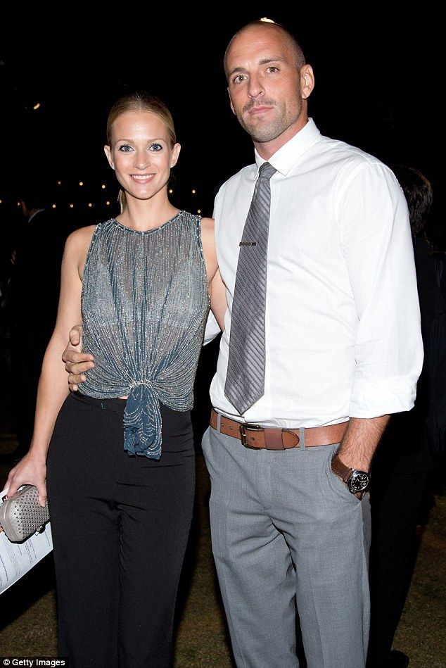 AJ Cook and husband Nathan Andersen