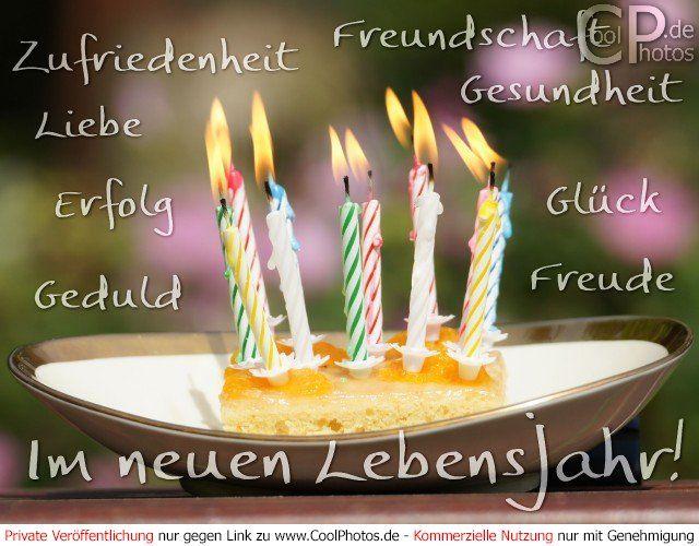 Geburtstag liebe gesundheit