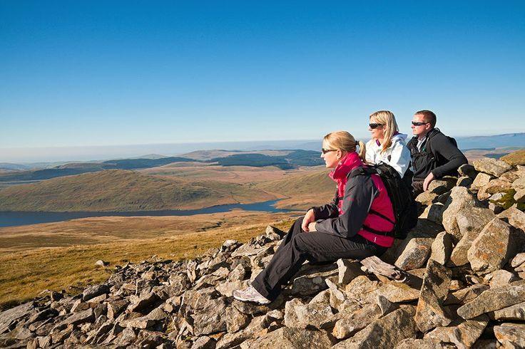 Randonnée dans les Montagnes Cambrian - Visit Wales