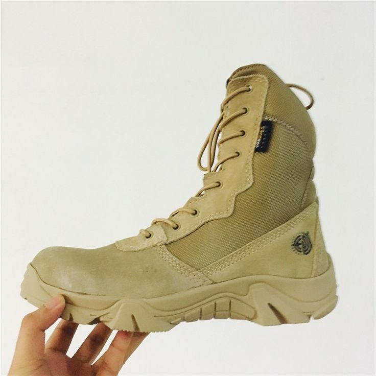 Men's Desert Camouflage Military Tactical Boots Genuine Leather Men Outdoor Combat Army Boots Botas Militares Sapatos Masculino - http://bootsportal.net/?product=men-s-desert-camouflage-military-tactical-boots-genuine-leather-men-outdoor-combat-army-boots-botas-militares-sapatos-masculino