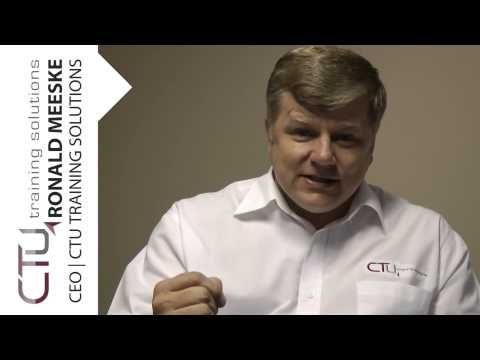 Graduation message from the CEO, Ronald Meeske | CTU Training Solutions