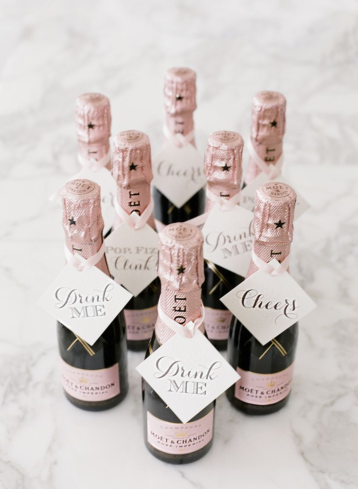 Bubbly favors: http://www.stylemepretty.com/2016/03/09/30-must-haves-to-plan-the-ultimate-classic-wedding/