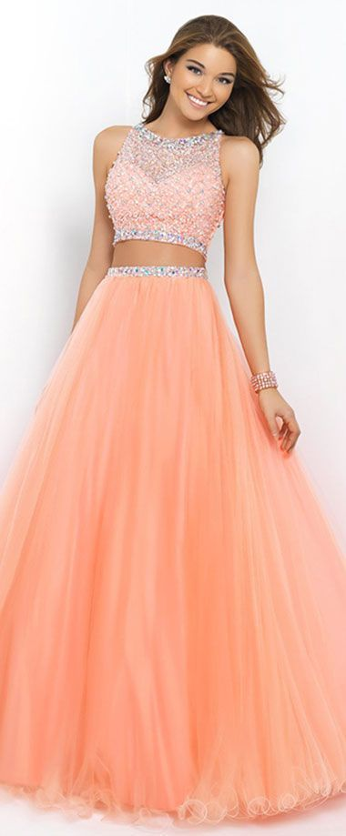 BLUSH PINK 5400 BALL GOWN CORAL PINK / Prom Store Lawrenceville, GA / prom dresses Lawrenceville, GA / Pageant Dresses Lawrenceville, GA