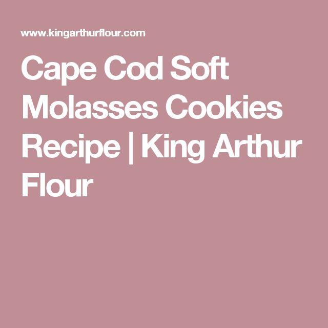 Cape Cod Soft Molasses Cookies Recipe | King Arthur Flour