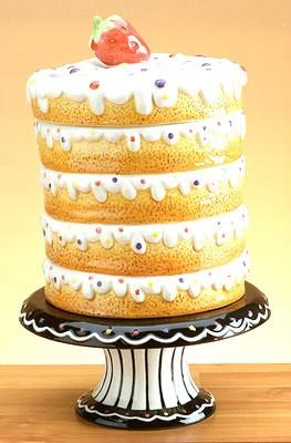 Big Cupcake Cup Cake Cookie Jar Unique ❤❤❤