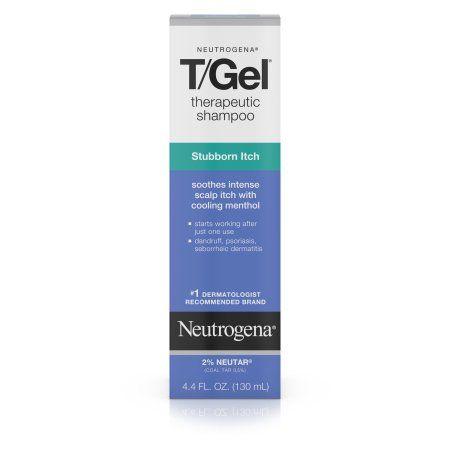 Neutrogena T/Gel Therapeutic Shampoo Stubborn Itch, 4.4 Fl. Oz, Multicolor