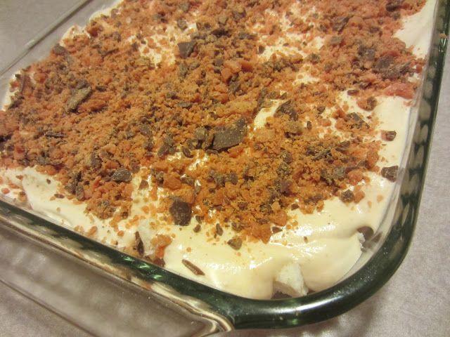 My Kitchen Adventures: Easy Butterfinger Dessert