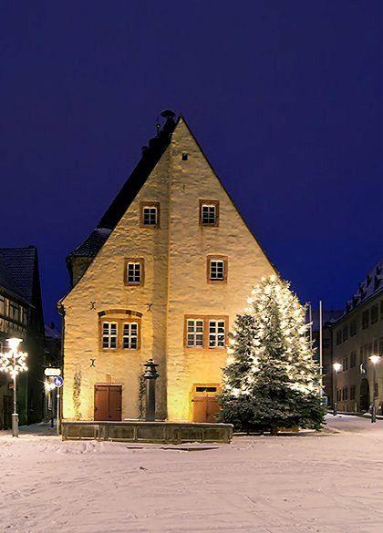 Christmas in Sangerhausen, Germany   by Sebastian Theilig