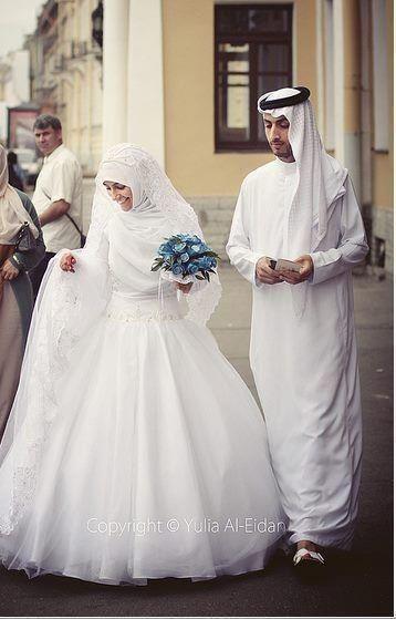 Hijabi Brides In White   Hashtag Hijab