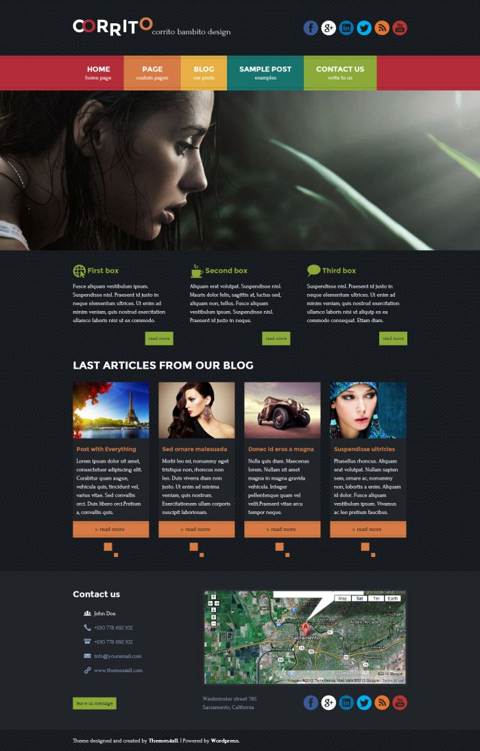 Premium WordPress Themes from Themes4all.com