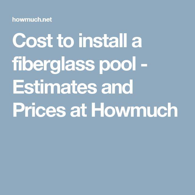 Fiberglass pools prices beautiful fiberglass pools prices for Cost of fiberglass