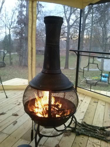 Good Cast Iron Chiminea W129C At The Home Depot