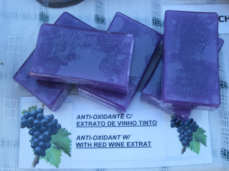 Red Wine extract soaps - Excellent anti-oxidant