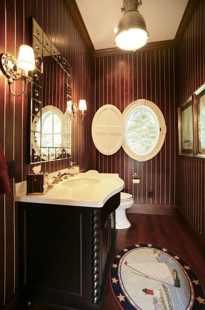 We have been featured on Houzz! Treatments for Large or Oddly Shaped Windows by Steven Randel.