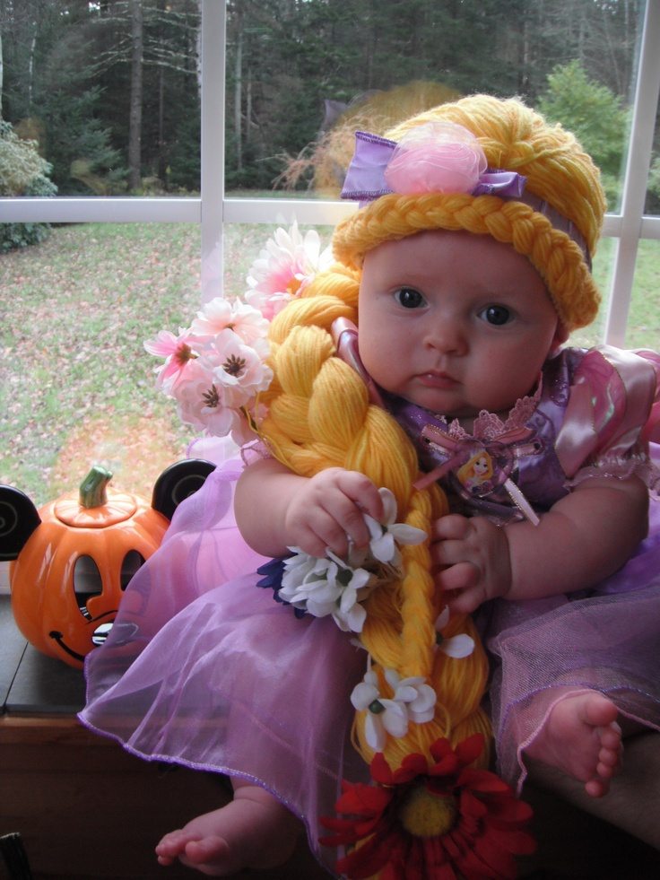 Baby rapunzel costume disney halloween pinterest disney rapunzel and do do - Costume halloween bebe ...