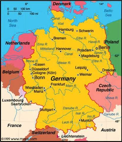 map germany germany profile history government economy population