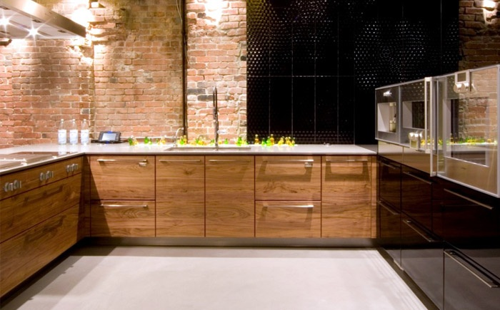 Loft Exposed Brick Kitchen Urban Loft Retrofit Pinterest