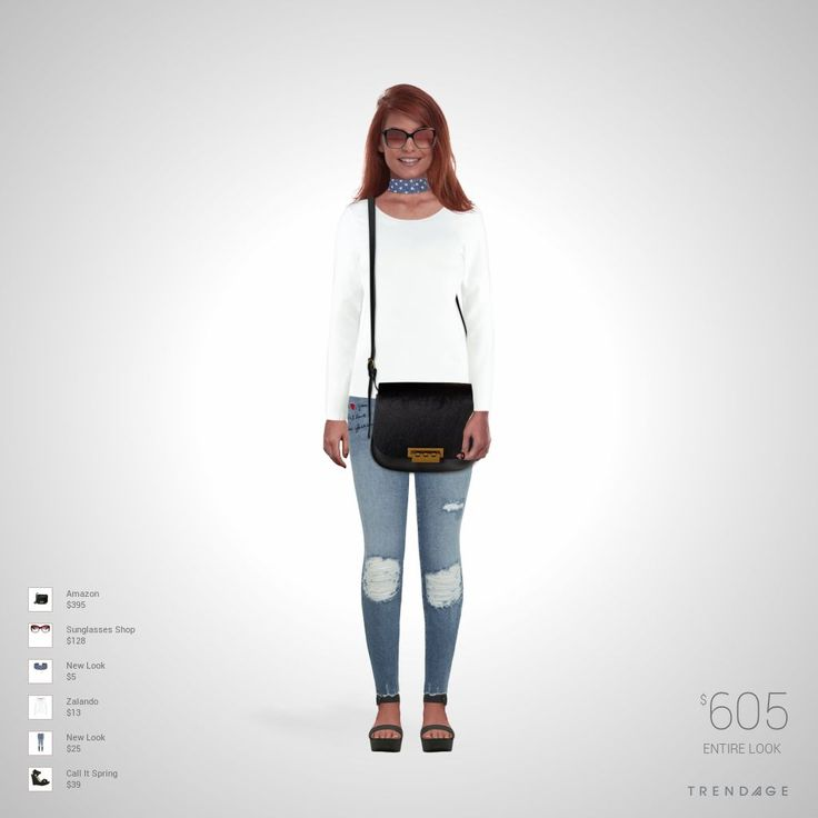 Fashion look with clothes from  Zalando, New Look, Call It Spring, Sunglasses Shop, Amazon.