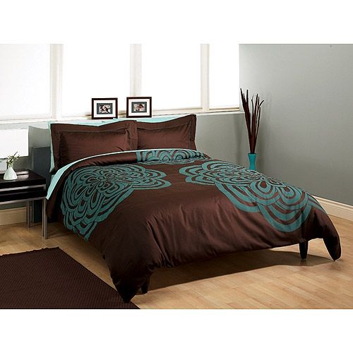 90 Best Teal And Brown Bedding Images On Pinterest Bedroom Ideas Comforters And Bedrooms