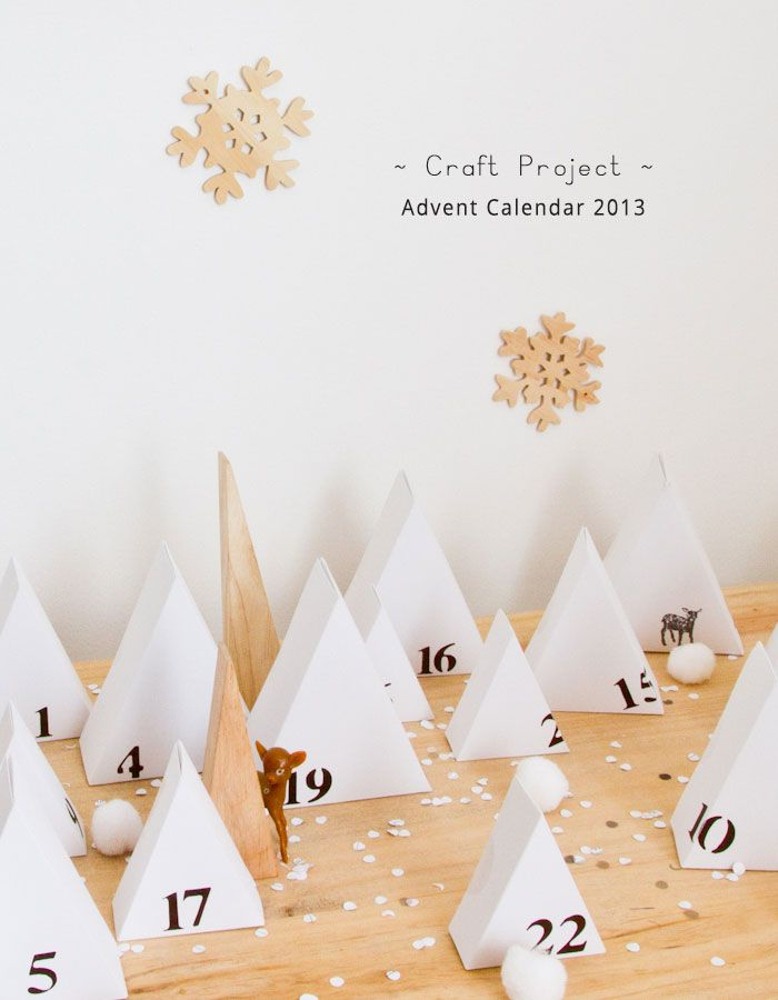 DIY Make A Tree Advent Calendar
