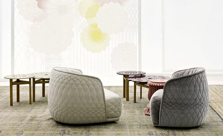Redondo Small Armchair by Patricia Urquiola for Moroso