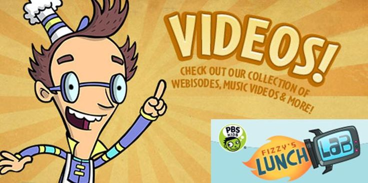PBS Kids Fizzy's Lunch Lab. Recipes, health videos, games, and more.