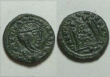 Barbaric imitaion follis of Constantine/Victory/Rare original ancient Roman coin