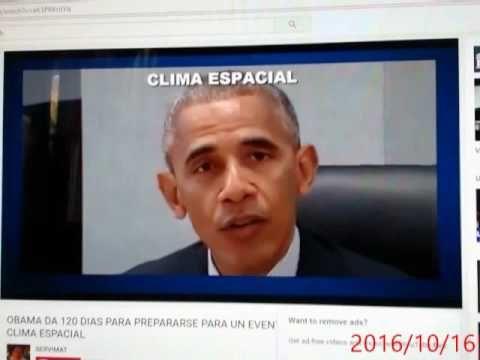 Comunicado ORDEM Executiva, Obama dá 120 dias para Preparação de Eventos...