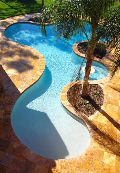 Wonderful Pool Finish Ideas For You To Copy: Best 25+ Tropical Pool Ideas On Pinterest