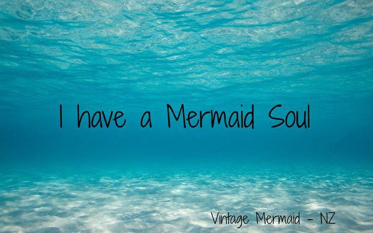 i have a mermaid soul