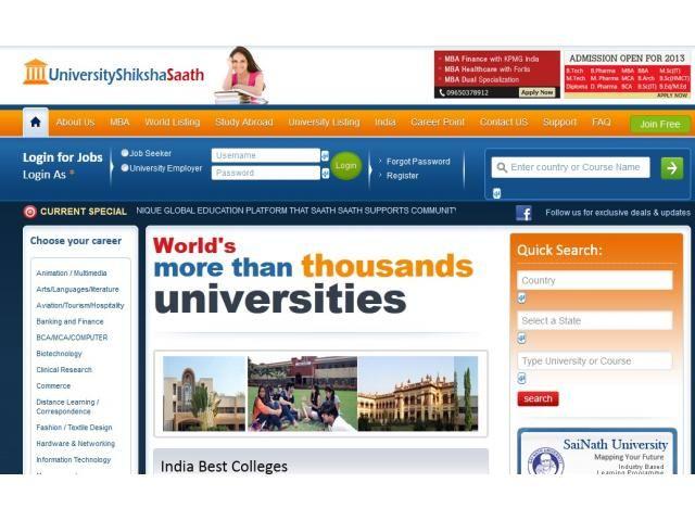 University Shiksha Saath - A Unique Global Education Platform Gurgaon - Prescott89.com