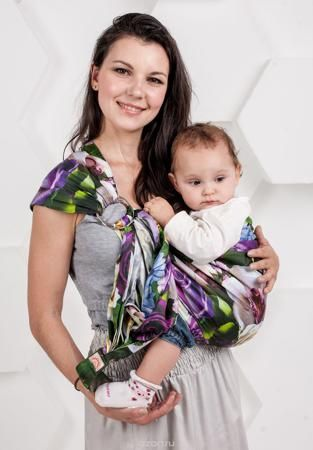 """Мамарада Слинг с кольцами Селеста размер М  — 2465р. ----------- Слинг с кольцами позволяет носить ребенка как горизонтально в положении """"Колыбелька"""" так и в вертикальном положении. В слинге в положении """"Колыбелька"""" малыш распологается точно так же, как у мамы на руках, что особенно актуально для новорожденного. Ткань слинга равномерно поддерживает спинку малыша по всей длине. Малышу комфортно и спокойно рядом с мамой. Мама в это время может заняться полезными делами или прогуляться. В…"""