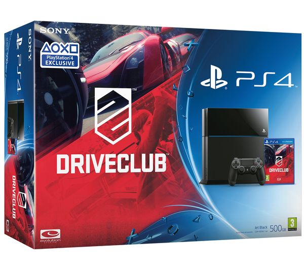 PlayStation 4 with DRIVECLUB