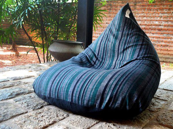 Voodoo Lounge Handloom Bean Bag Chair