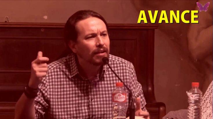 """Pablo Iglesias """"Nos da ASCO hacer una cola con RITA BARBERA para SALUDAR..."""