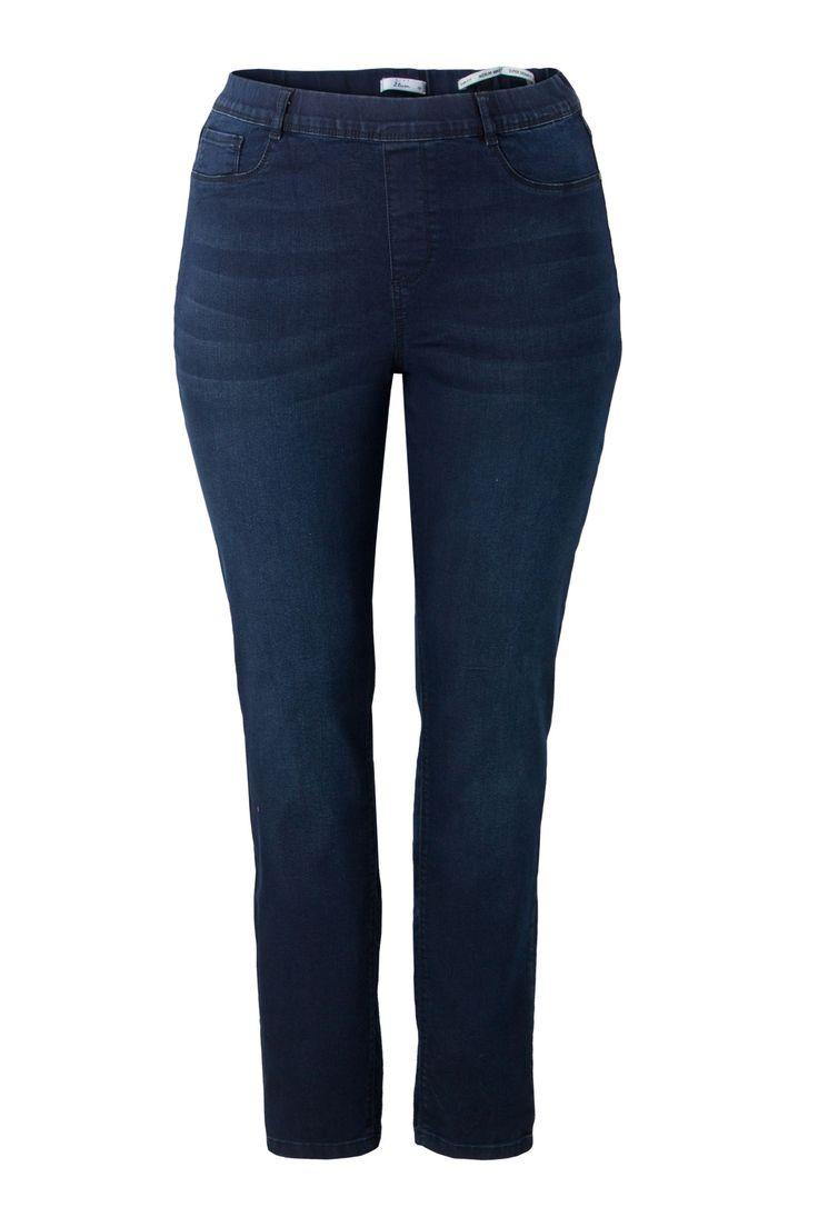 Jeans tregging 32'' Miss Etam  Donkerblauwe jeans tregging.  EUR 24.99  Meer informatie
