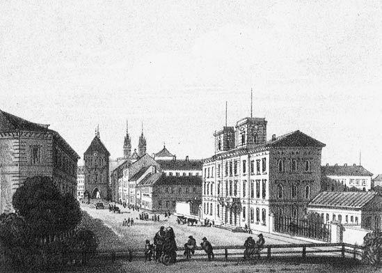 Nádraží Praha - dnešní Masarykovo nádraží