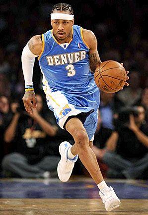 2006-2008 Denver Nuggets Allen Iverson