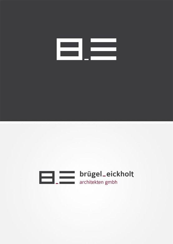 Redesign Logo für Brügel_Eickholt. | #logo #design #corporate design #branding #typo #Architektur # architecture #designhouse | made with love in Stuttgart by www.smoco.de