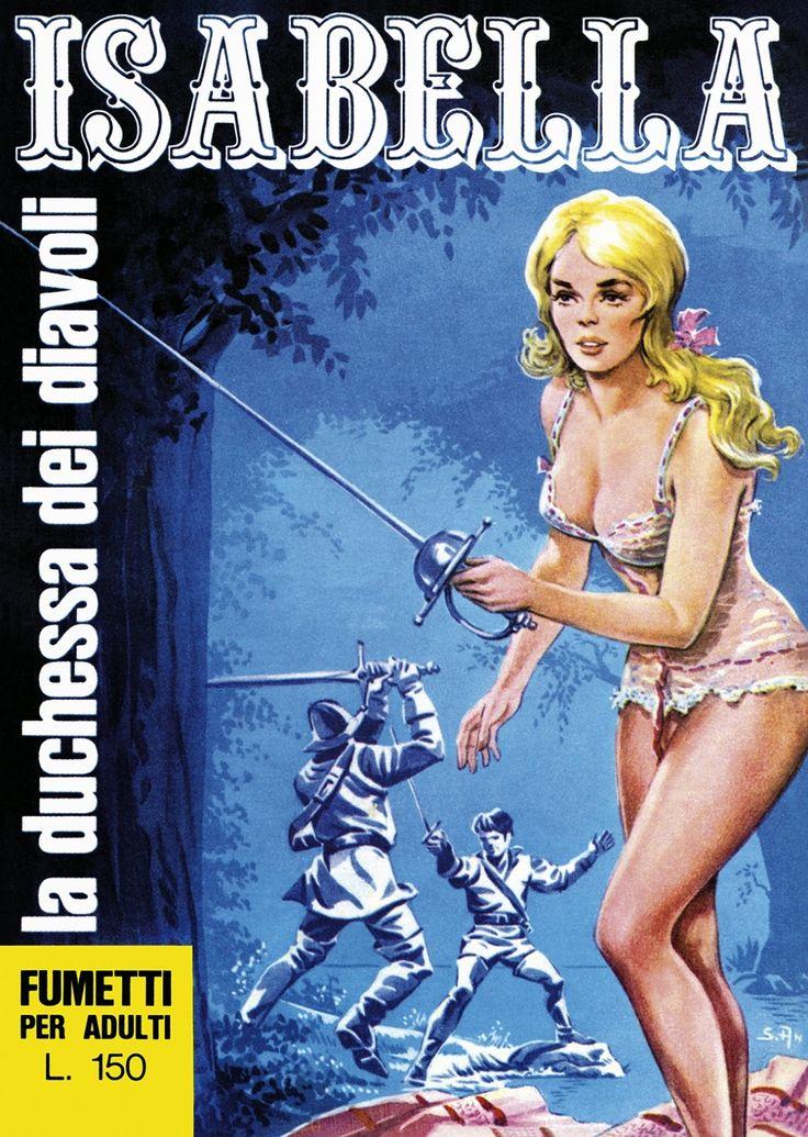 """Scansione fumetti erotici anni '80: Progetto """"Isabella"""" - La Duchessa Dei Diavoli"""