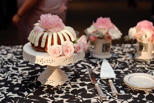 Nothing Bundt Wedding Cake
