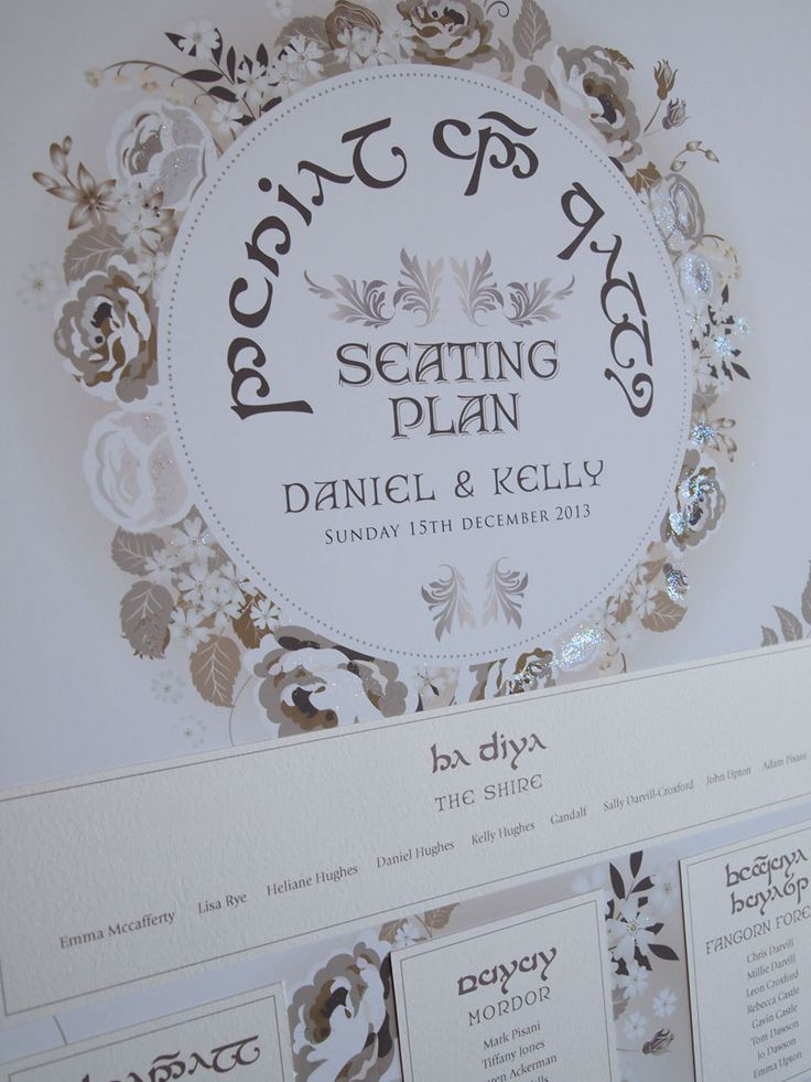 lotr wedding invitations - Google Search