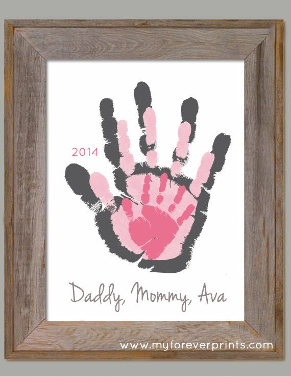 Mother's Day Father's Day gift Made with your by MyForeverPrints, $35.00