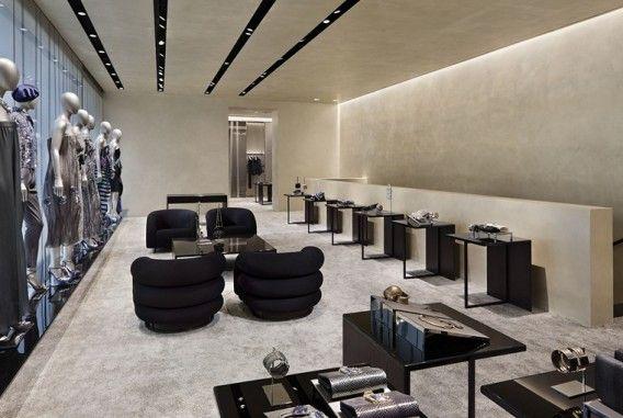 Emporio Armani showroom-like store on Madison in New York