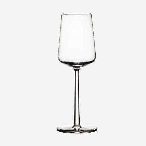 Essence white wine glass by Iittala