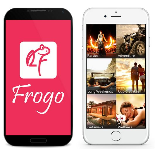 Frogo- Activities Experiences — Android Apps on Google Play Discover and Book Activities, Experiences & Things to do around you. https://play.google.com/store/apps/details?id=com.frogo&hl=en