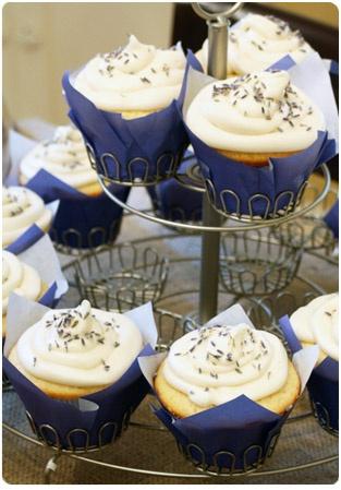 Lemon Lavender Cupcakes...sounds heavenly