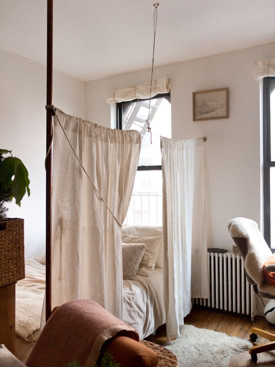 Ways To Partition Your Dorm Room